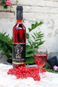 röda vinbär vin