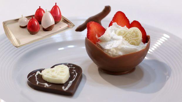 choklad skål ballong