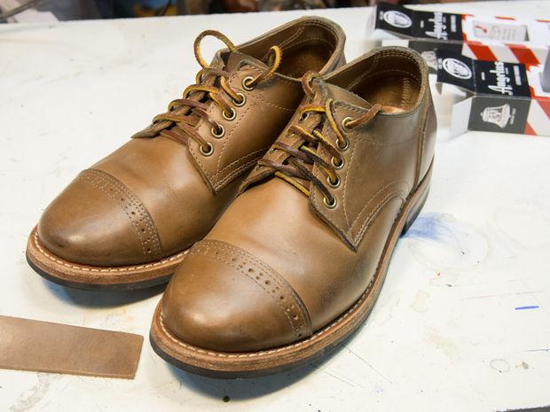 färga om skor