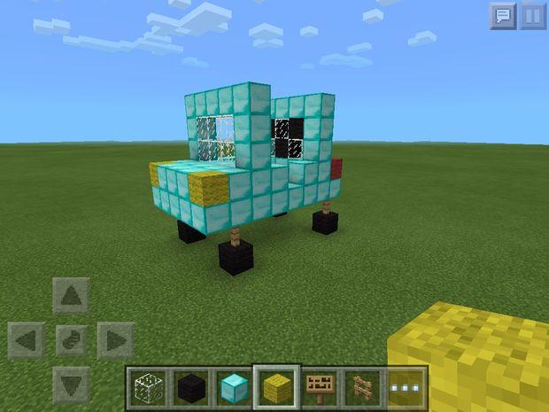 Minecraft Lastbil